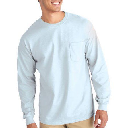 32240ed7de0 Gildan Mens Classic Long Sleeve Pocket T-Shirt