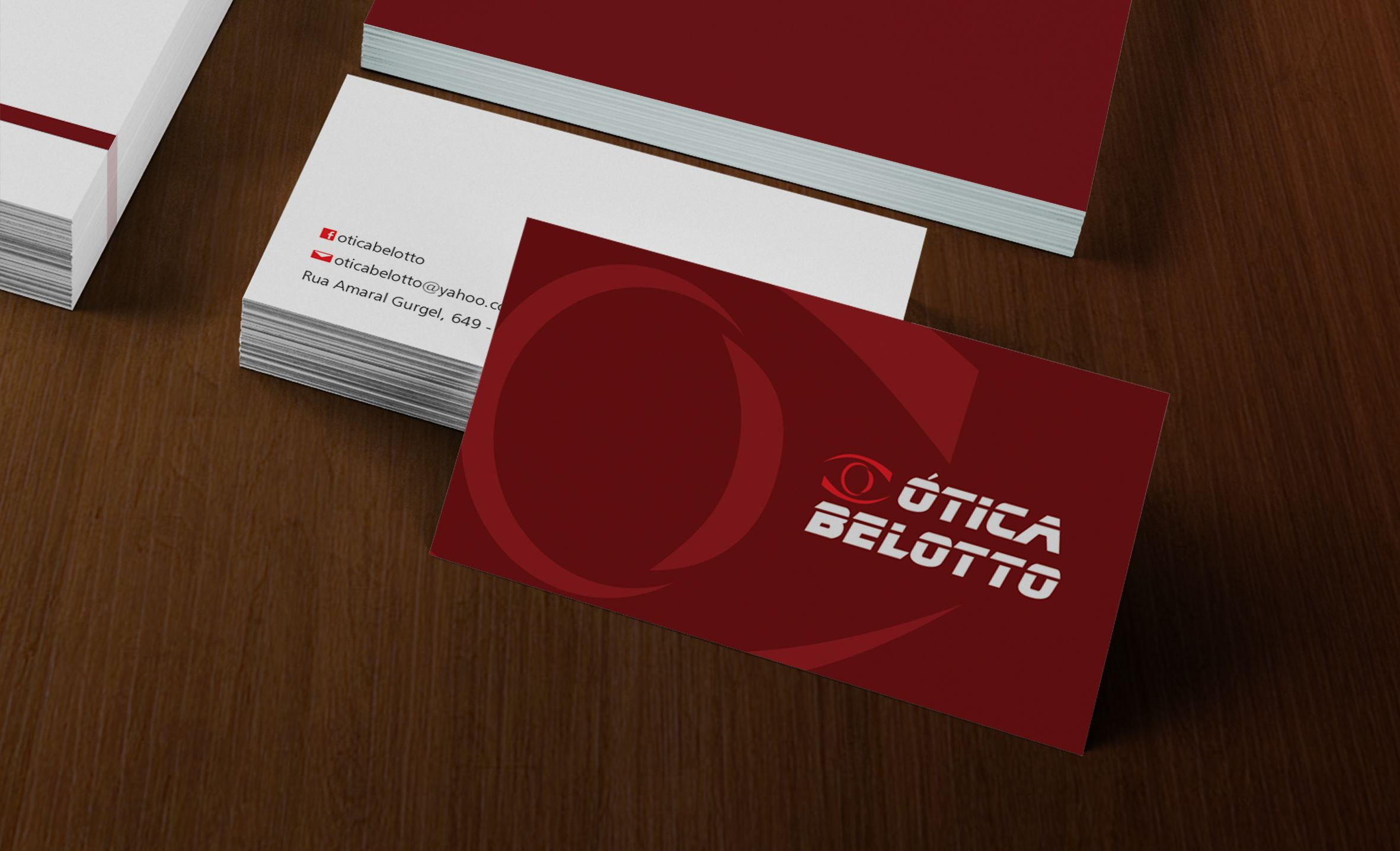 Cartão de Visita   Cliente  Ótica Belotto   Pinterest 8283393e42