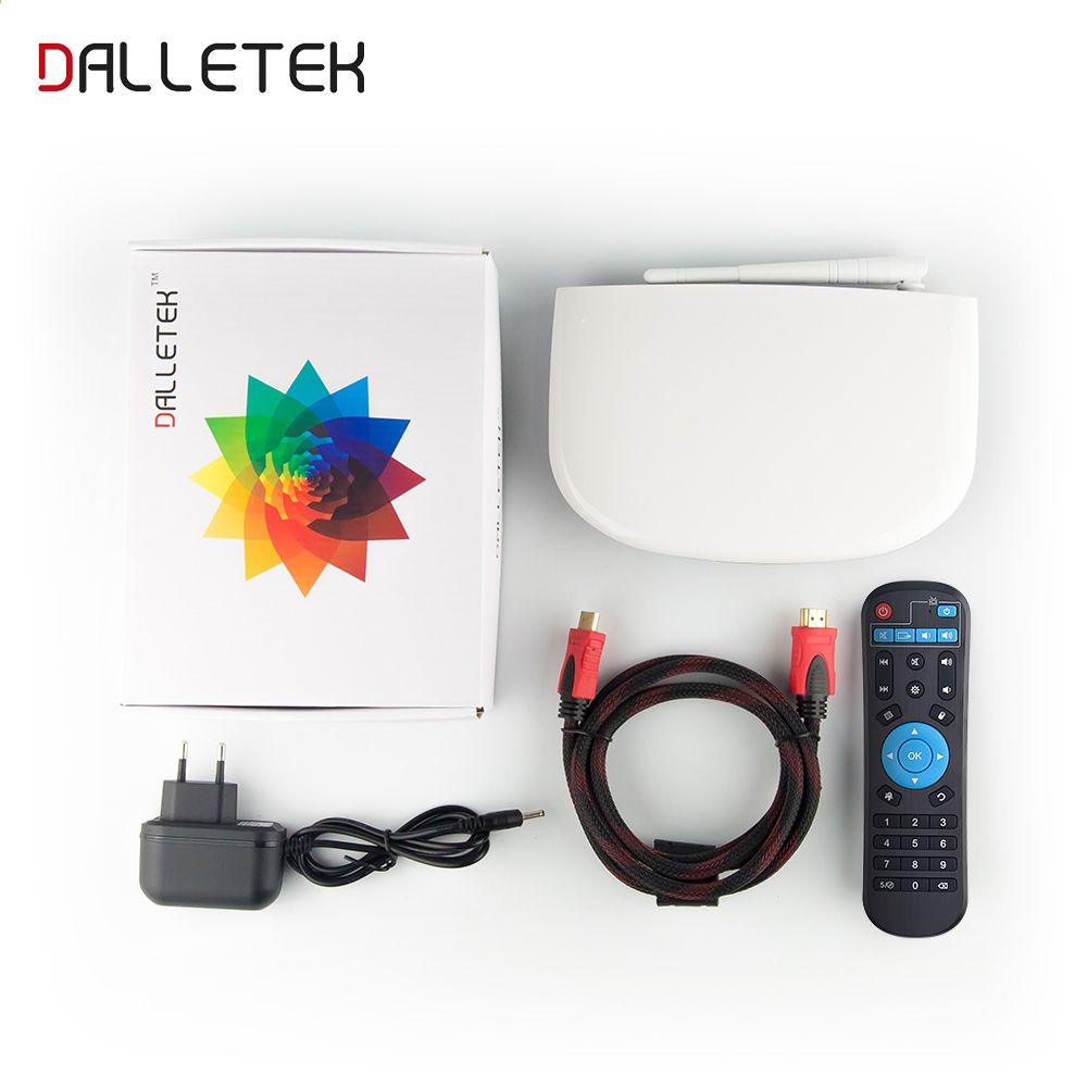 Dalletektv Android 6 0 Inteligentní TV Box 4K x 2K RK3229 1G / 8G
