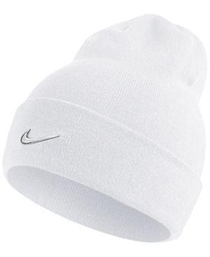 dedd78c3004 Nike Men s Swoosh Beanie - White
