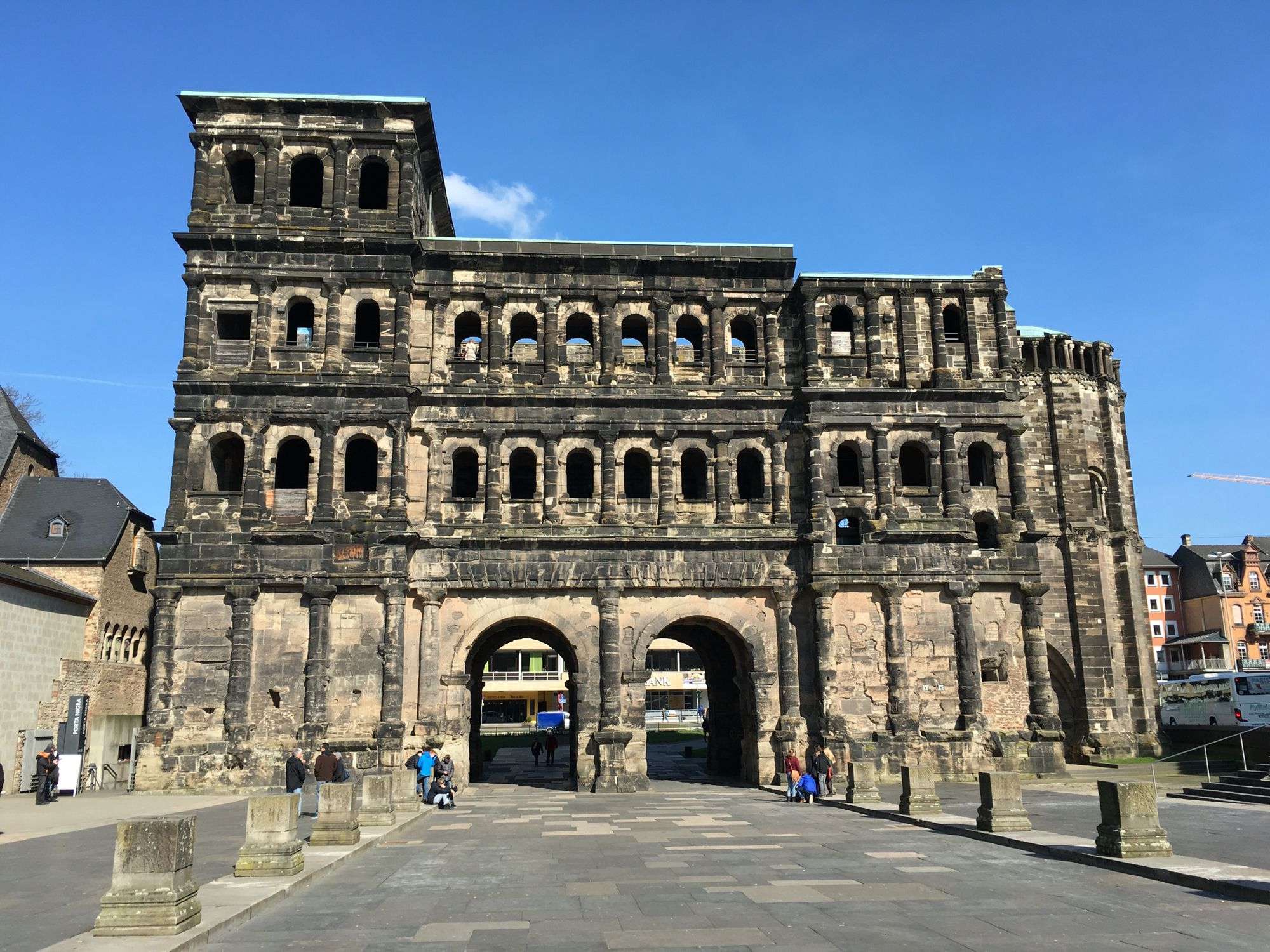Trier Porta Negra Germany Building Places Ive Been