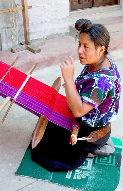 Pascuala Hernandez is a weaver from Zinacantán, Chiapas who learned to weave on…