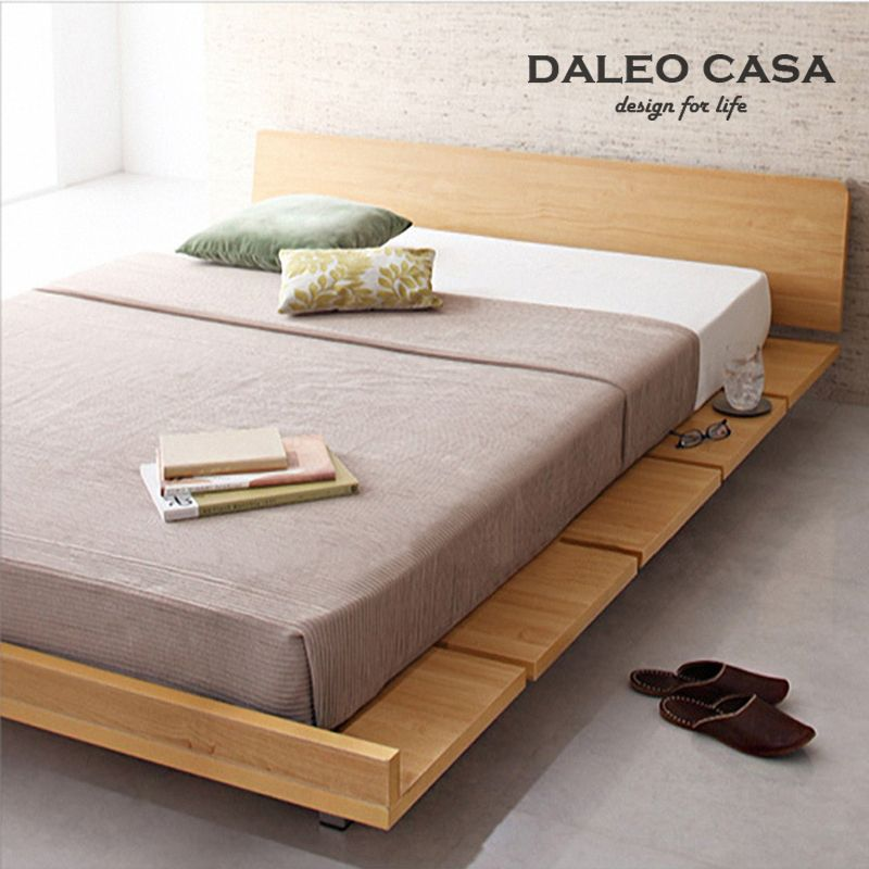 M s de 25 ideas incre bles sobre camas minimalistas en for Make your own bed frame ideas