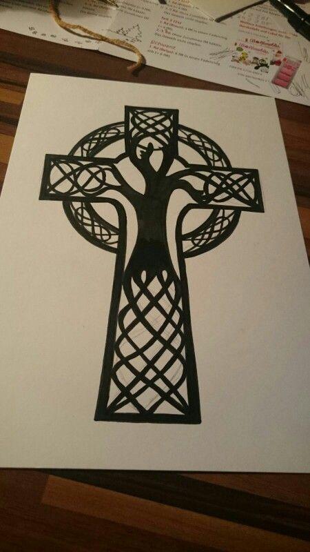 celtic cross tree tattoos pinterest tattoo tatting and celtic tattoos. Black Bedroom Furniture Sets. Home Design Ideas