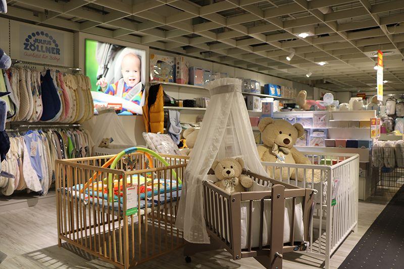 Stubenwagen und laufgitter für babys bei möbel wallach in celle