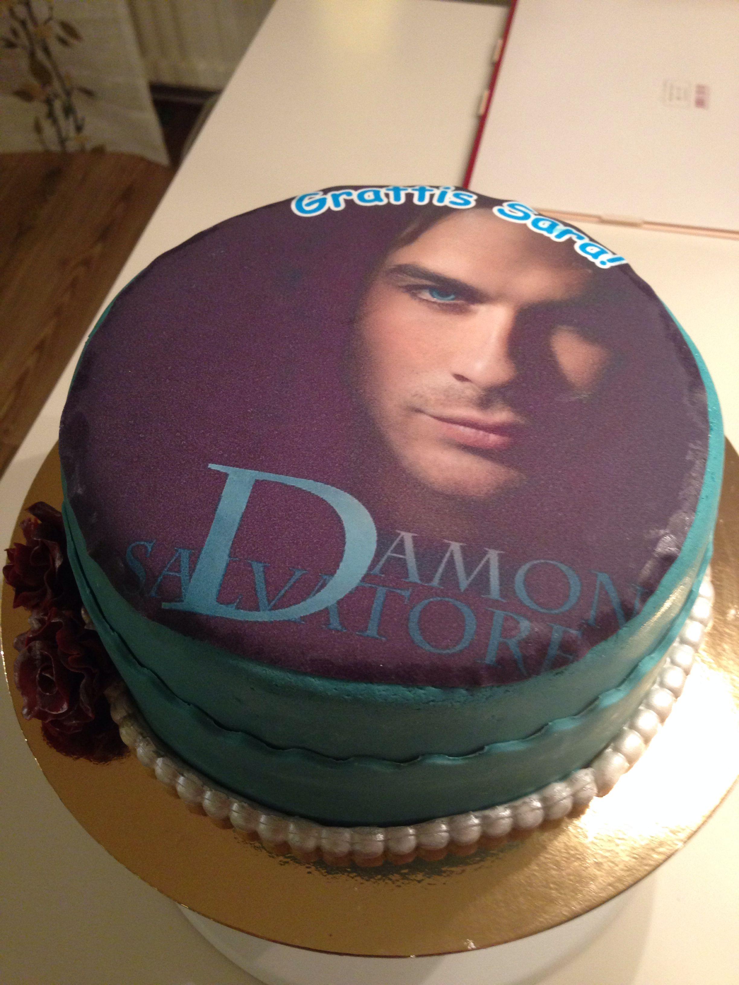 Vampire Diaries Cake Cakes Pinterest Cake Birthday Cakes And Food