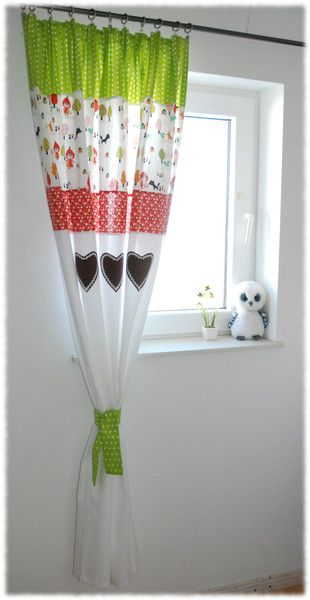 Gardinen Vorhange Vorhange Fur Kinderzimmer Rotkappchen