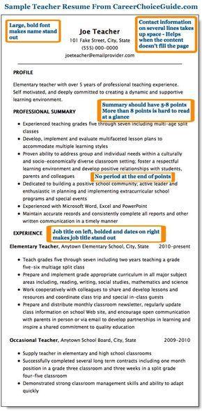 Sample Teacher Resume Page   Fatima    Teacher