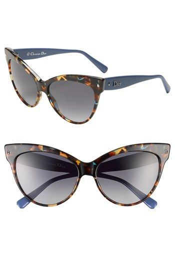 fcde9796fa Dior  Mohotani  58mm Cat s Eye Sunglasses available at  Nordstrom ...