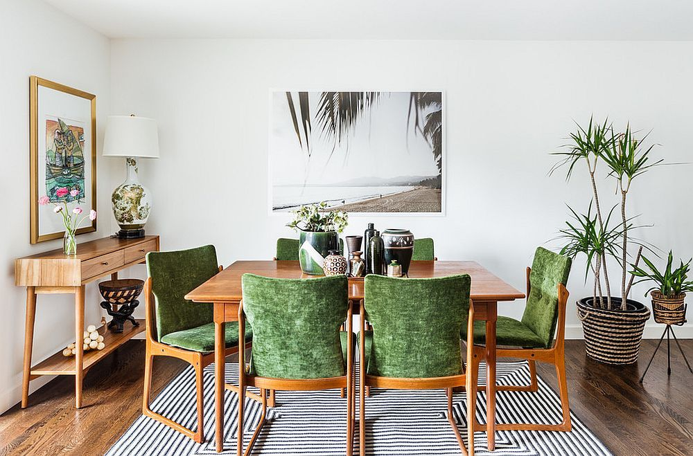 10 Vibrant Tropical Dining Rooms with Colorful Zest Tropical style