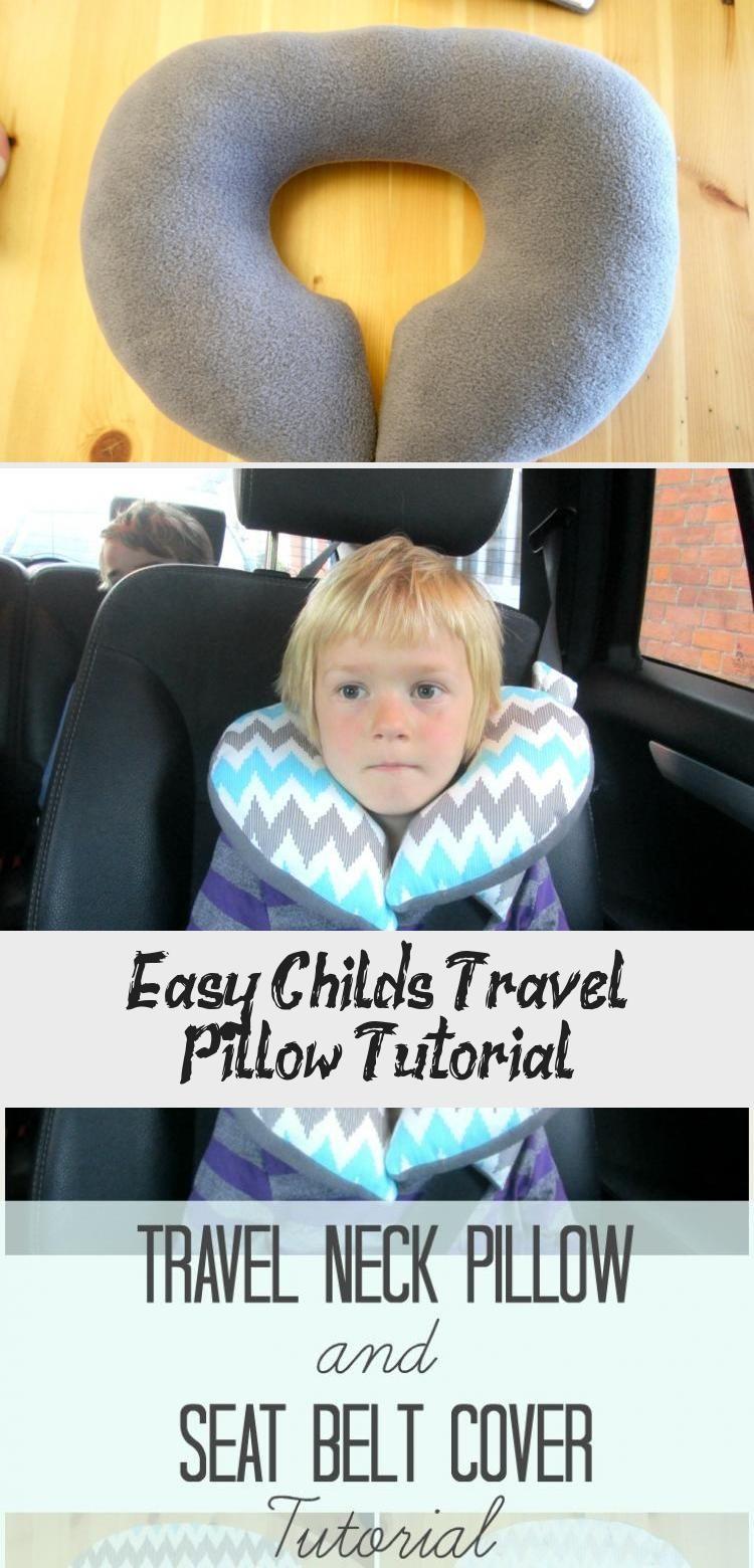 Travel Pillows Kids U Shape Car Seat