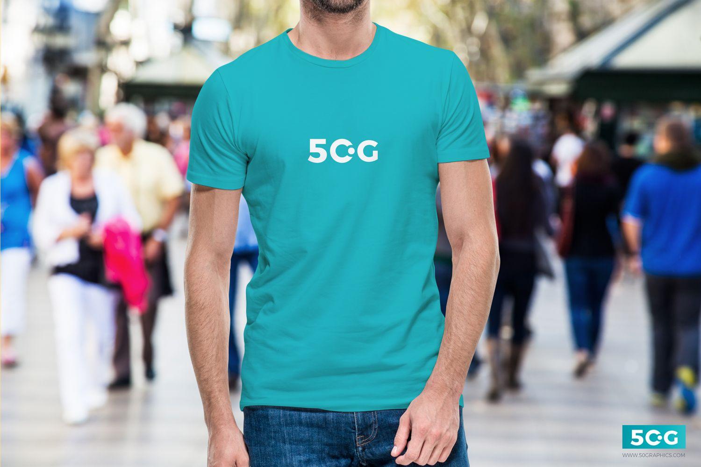Download Free Young Man Wearing T Shirt Mockup Tshirt Mockup Shirt Mockup Mens Tshirts