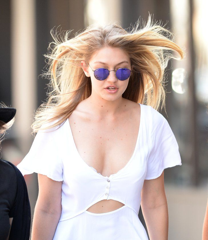 Pin for Later: Gigi Hadid Will Convince You to Rock a Dress and Sneakers
