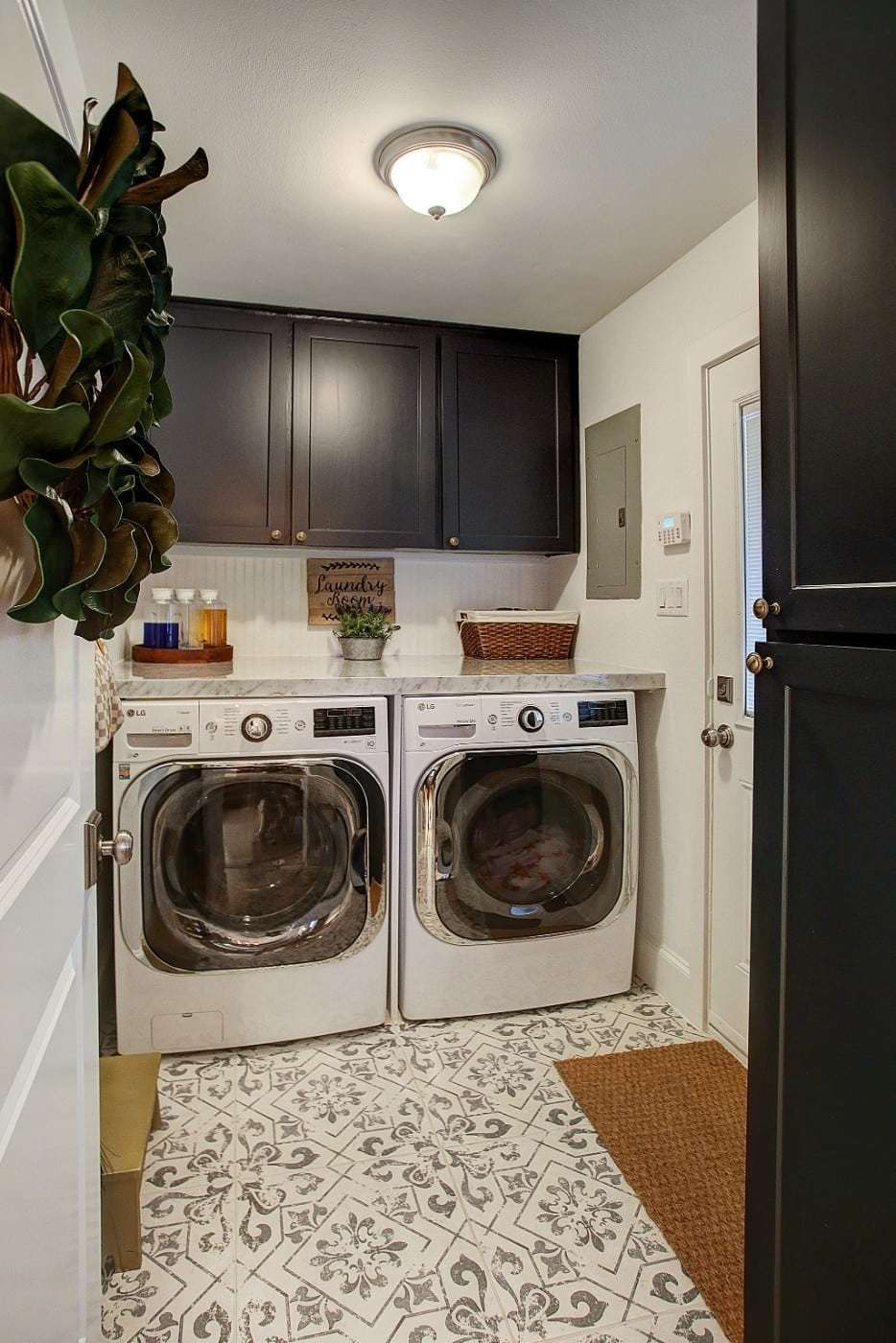 How to dress up your laundry room