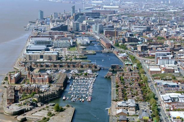 Beautiful Aerial Pictures Show Liverpool From The Air Part One Liverpool City Liverpool Liverpool Town