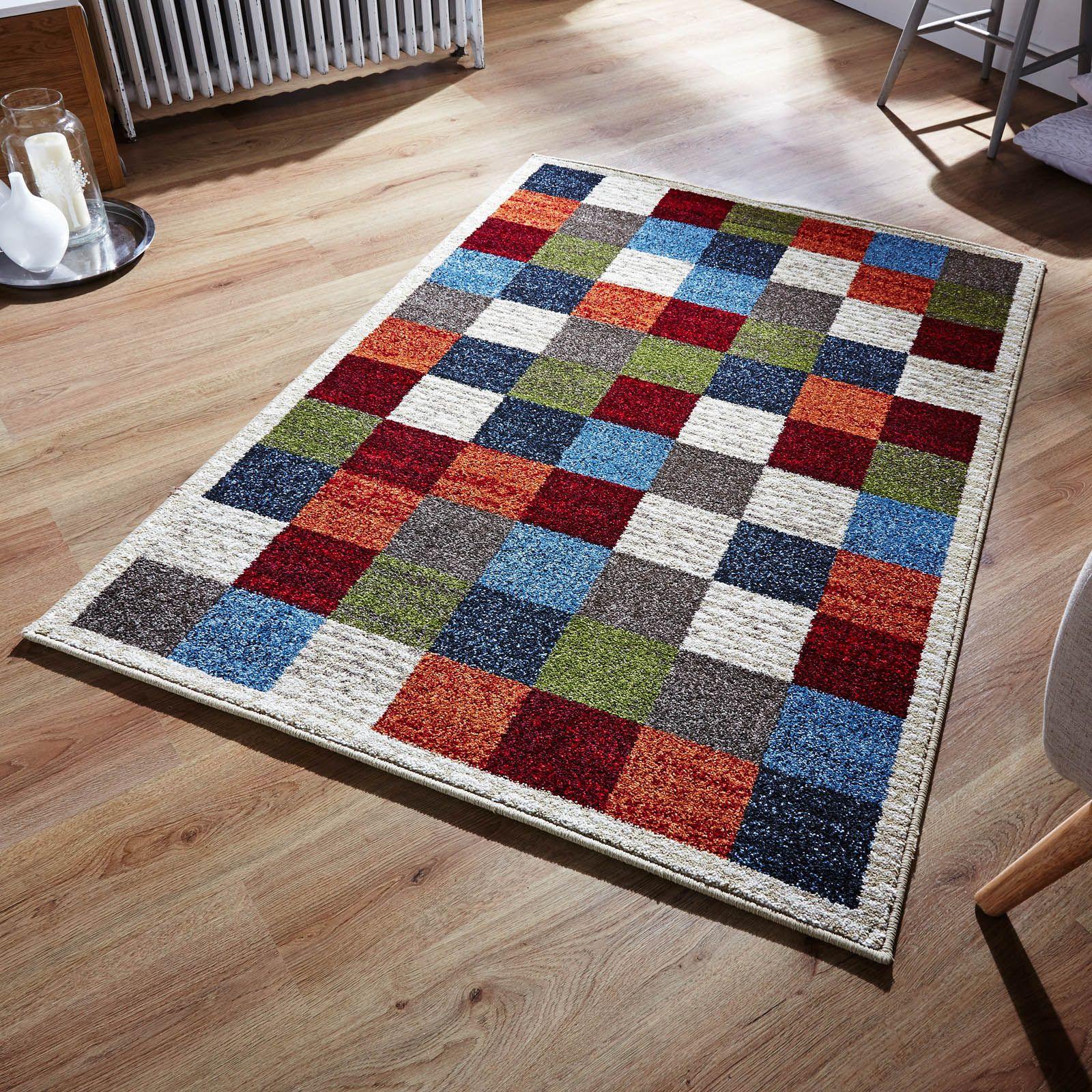 Zante Multi Coloured Rugs 113w