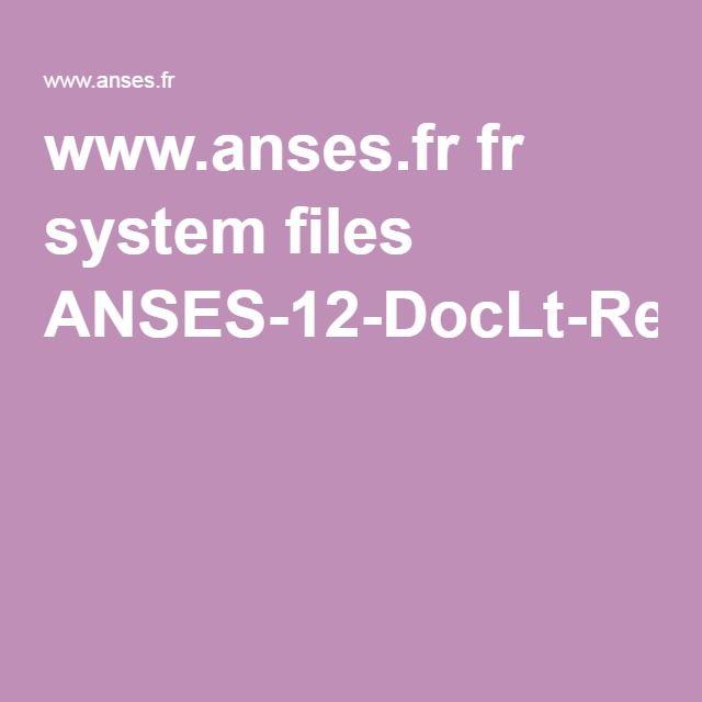 fiche conseil stockage des aliments ds le frigo www.anses.fr fr system files ANSES-12-DocLt-Refri.pdf