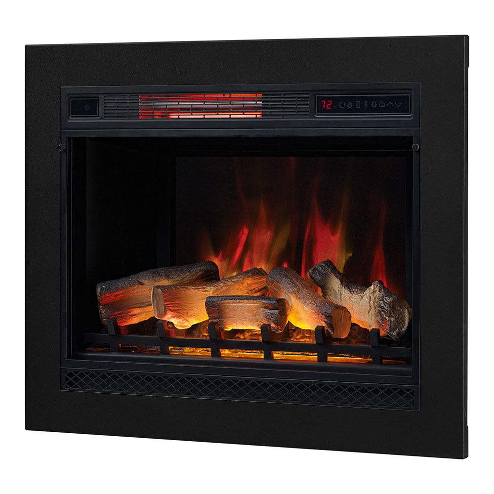 classicflame 28 in 3d spectrafire plus infrared electric insert rh pinterest com