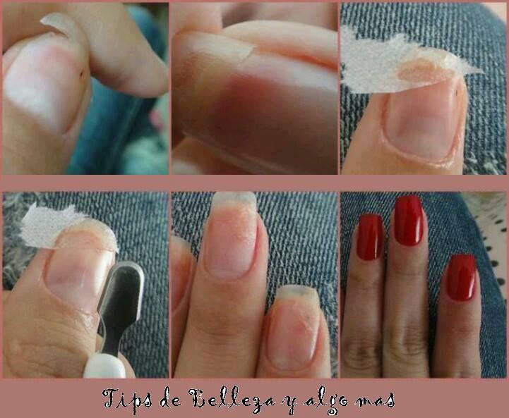 Aprende a arreglar una uña quebrada! A la mayoría de las mujeres nos ...
