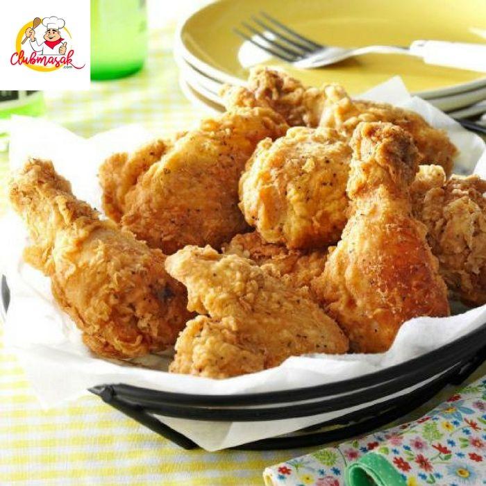Cara Membuat Fried Chicken Sederhana, Resep Fried Chicken  Resep