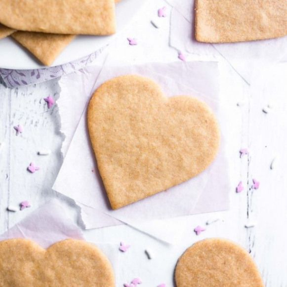 Ultimate Healthy Sugar Cookies. Delicious buttery sugar cookies that couldn't be easier to make. No one will guess they're secretly clean eating and healthy!