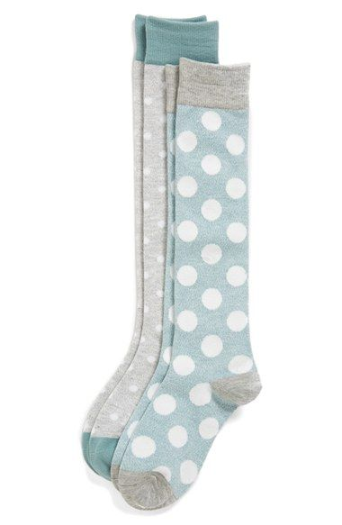 7870dc70b65 Tucker + Tate  Marled Dots  Knee High Socks (2-Pack) (Toddler ...