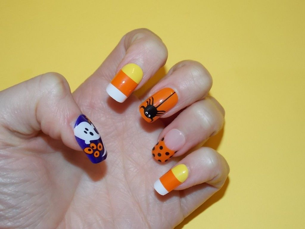 Review Swatches 5 Best Halloween Nail Art Stickers Broadway Impress Press On Manicure Kiss Nail Dress Tattoos Beautystat Com Nail Stickers Designs Nail Art Stickers Halloween Nail Art