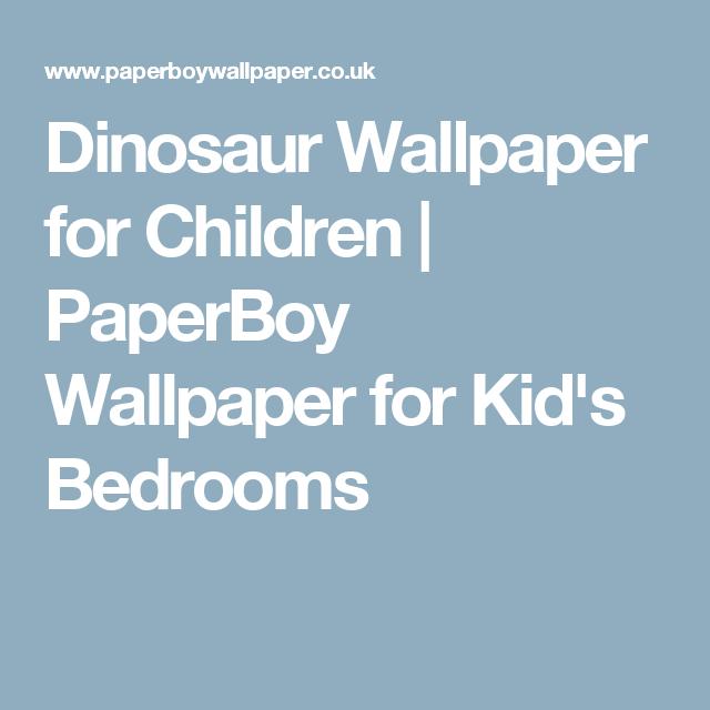 Dinosaur Wallpaper for Children   PaperBoy Wallpaper for Kid's Bedrooms