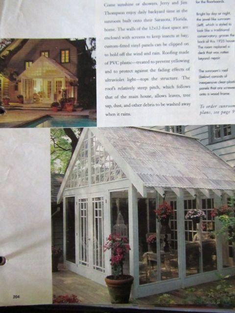 Sun Room Garden Porch Yard Pinterest Room