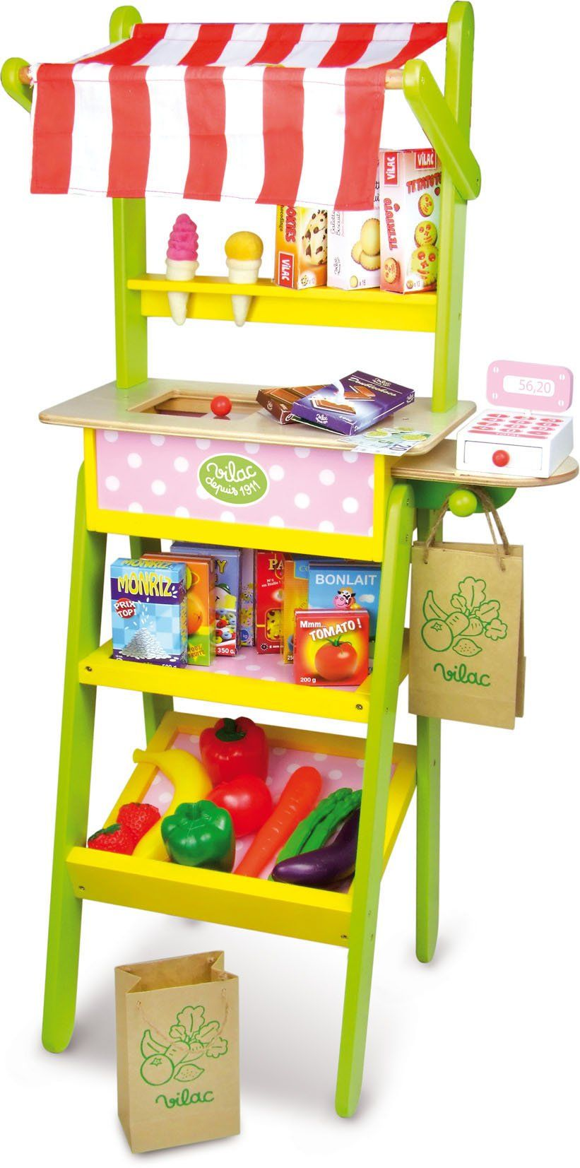 Vilac Grocery Store Development Toy, Large