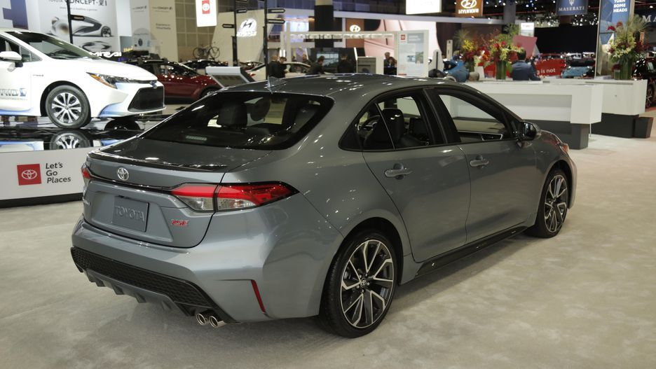 The 2020 Toyota Corolla Wears A Striking New Face Toyota Corolla Toyota Cars Toyota