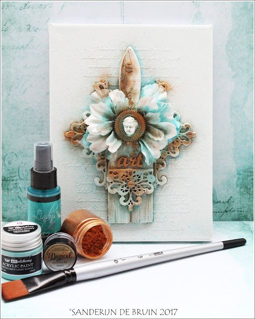 The Dusty Attic Blog January Winner And Art Altered
