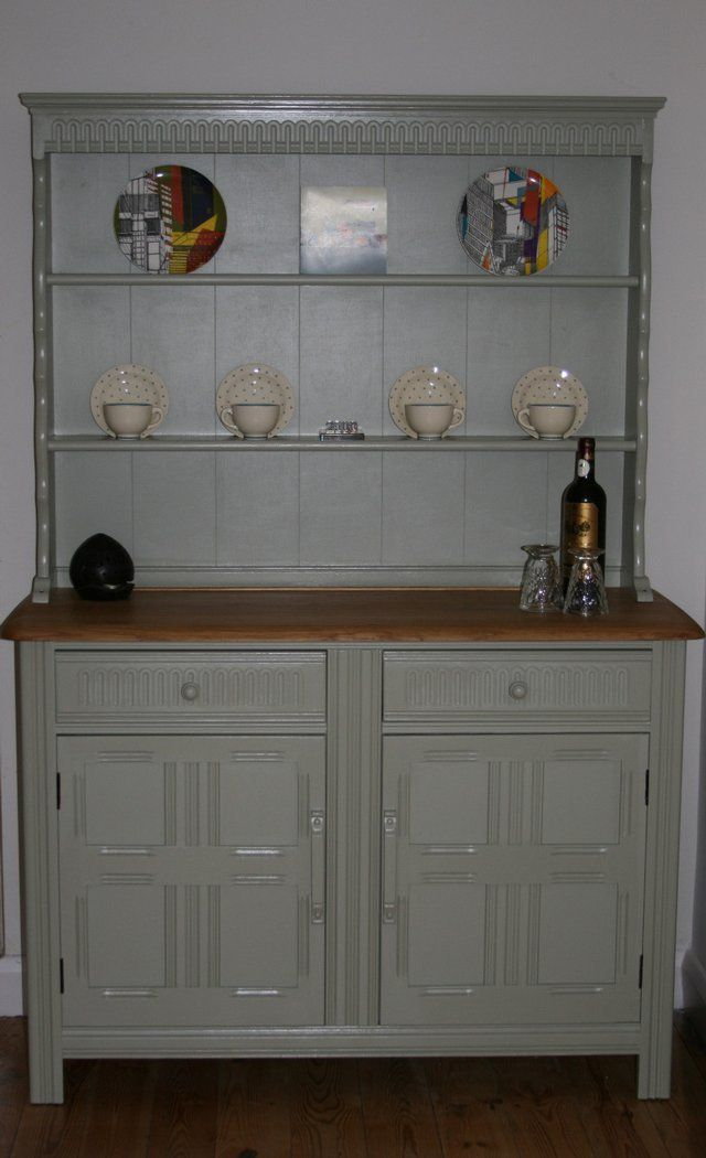 Priory Oak Welsh Dresser Sideboard Refurbished This Is The Plan