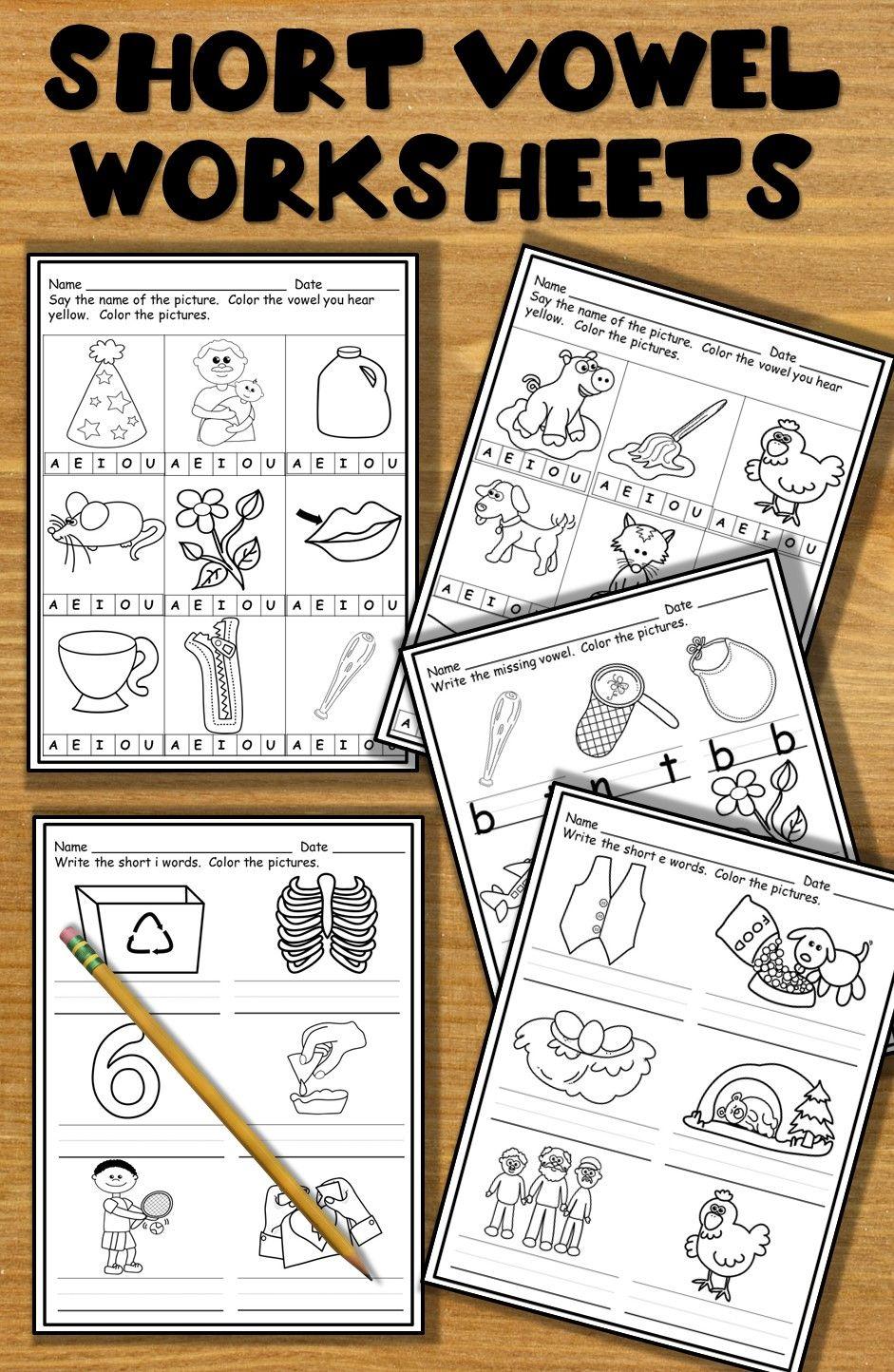 Save Yourself Some Time Just Print And Go Worksheets For Short Vowels Short Vowel Worksheets Vowel Worksheets Short Vowels [ 1444 x 941 Pixel ]