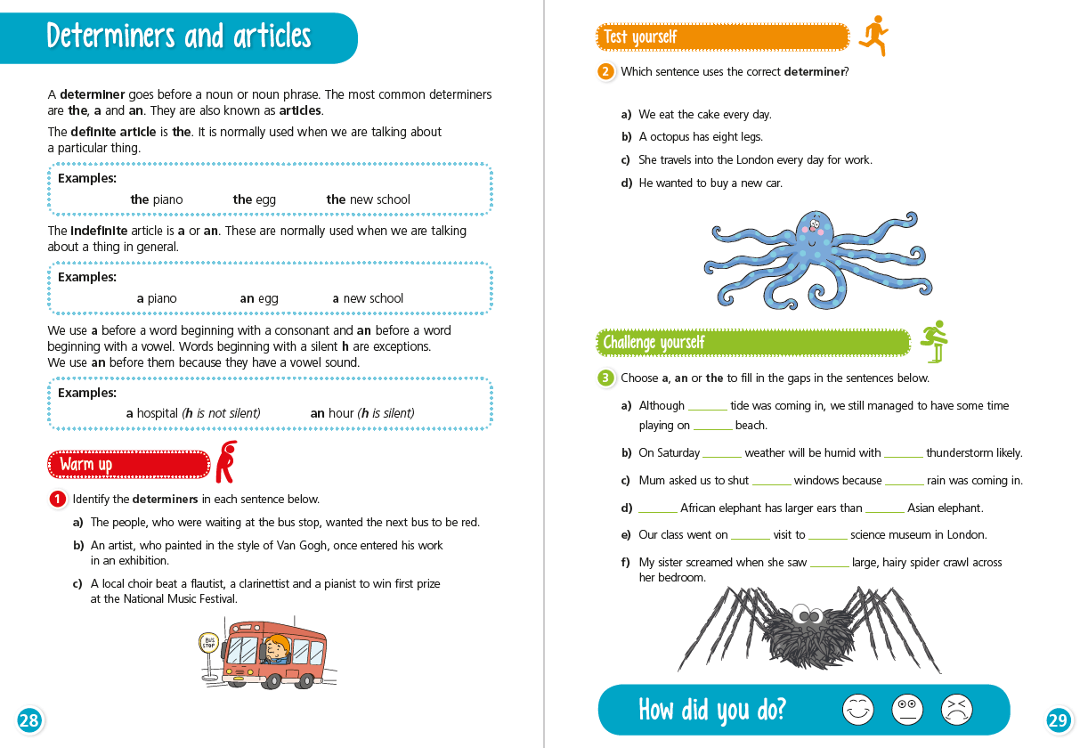 6 Of The Best Determiners Resources And Worksheets For Ks2