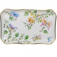 Plateau en porcelaine - Papill'or porcelain tray