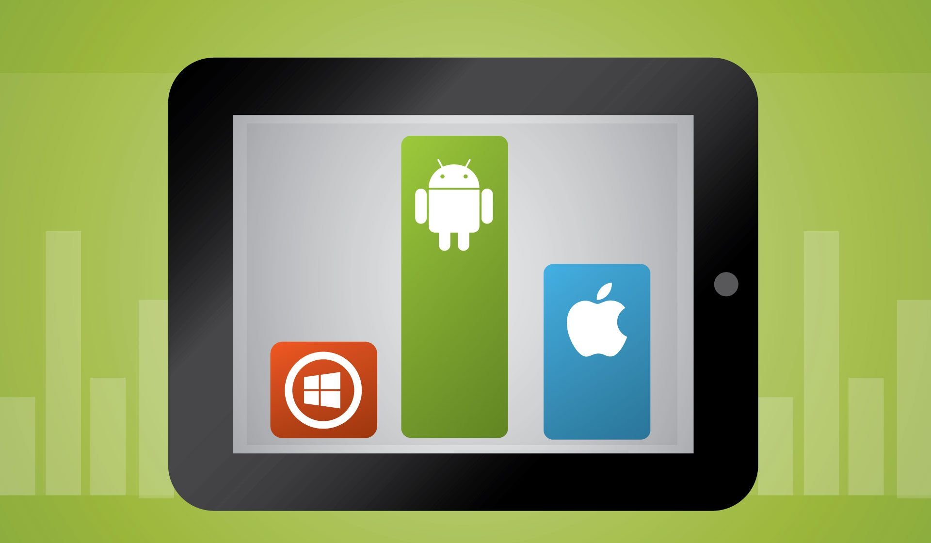 In 2014, #Android tablets had a whopping 72% of #tablet market share! Read on for more details! #mobile