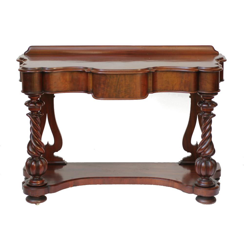 Mid 19th Century Mahogany Buffet Table