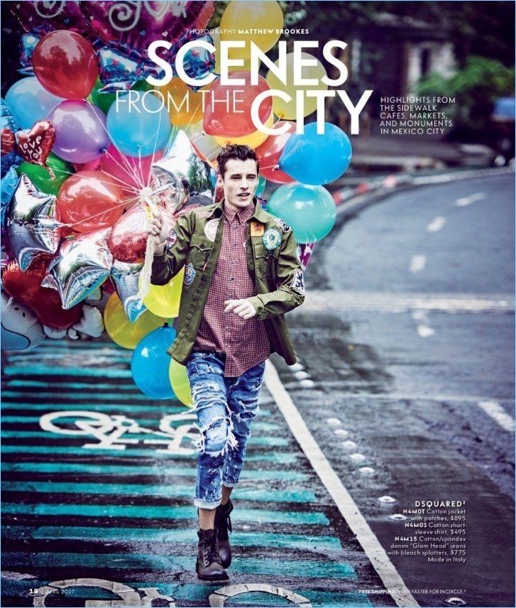 c4cdd3157a3 Scenes from the City  Adrien Sahores   Garrett Neff Model Designer Styles  for Neiman Marcus