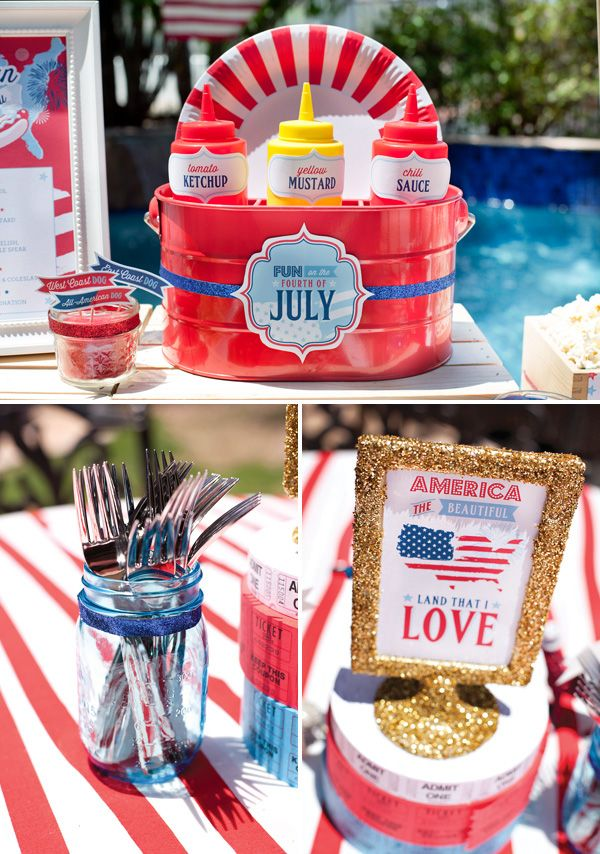 All American County Fair 4th of July Party from @Jenn L Milsaps L Bell with the Mostess