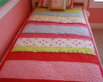 Eliza Jane PDF quilt pattern FULL SIZE by SewSweetCottage on Etsy ... : size of twin size quilt - Adamdwight.com