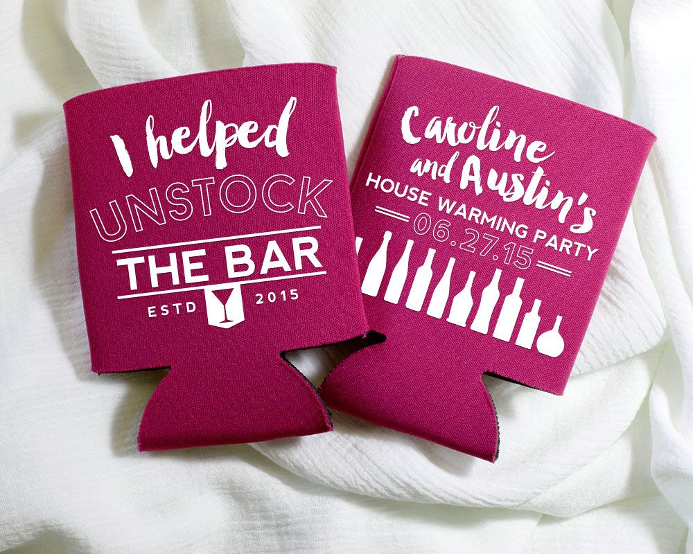 Un-Stock The Bar Party Favors, House Warming Party Gift, Couples ...