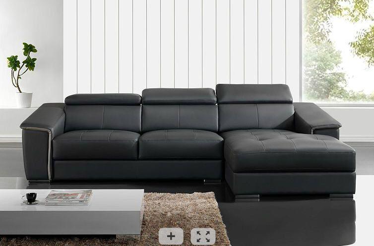 canap but canap angle droit spirit noir meubles pas cher. Black Bedroom Furniture Sets. Home Design Ideas