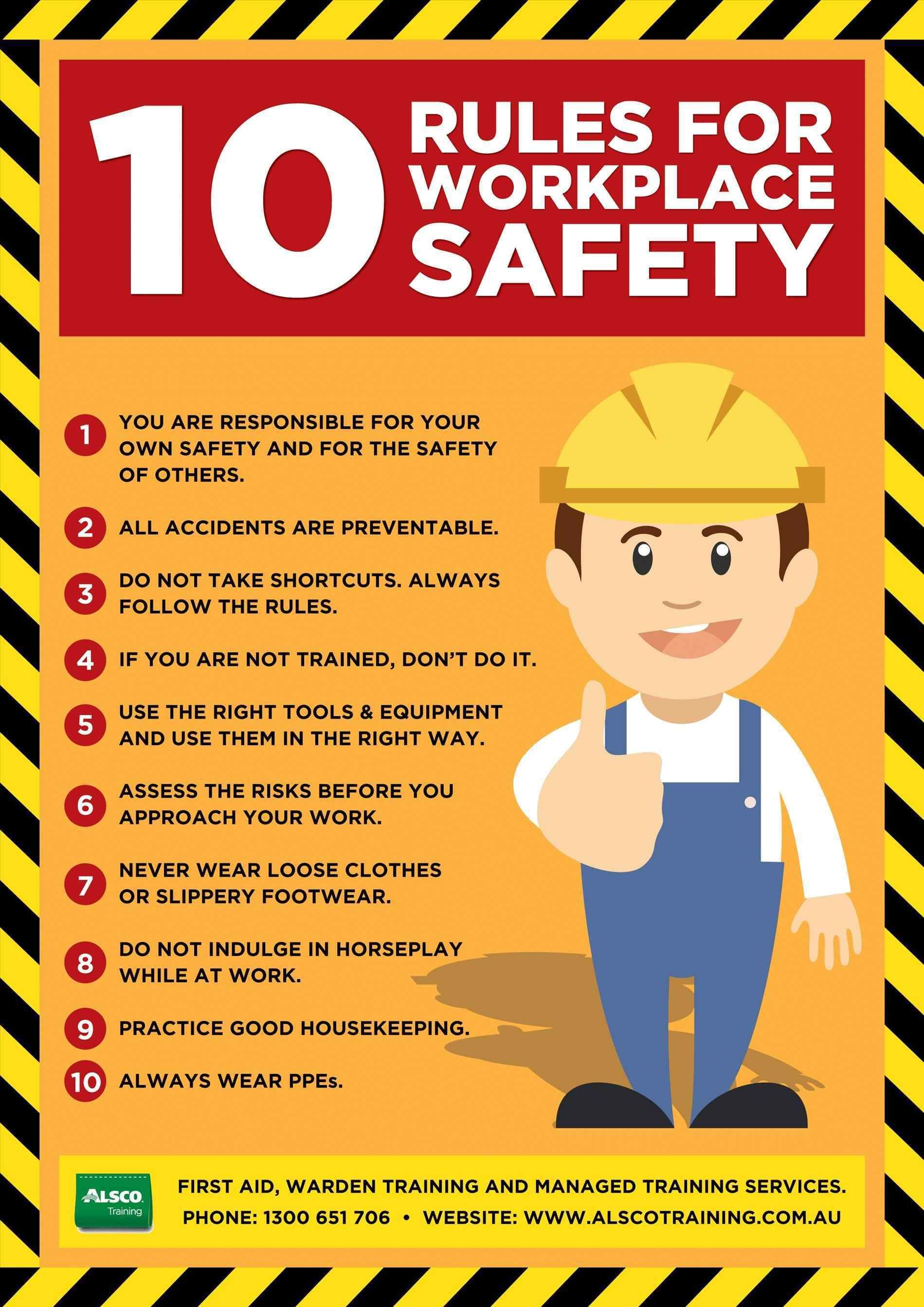 Image Result For Workplace Safety Tips