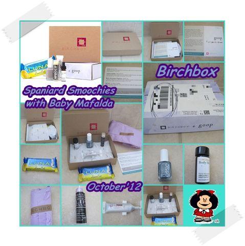 Birchbox - Octubre 2012