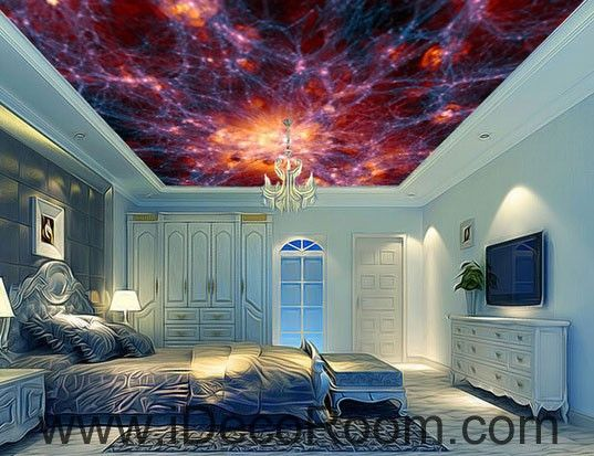 Universe Explosion 00067 Ceiling Wall Mural Wall paper Decal Wall Art Print Decor Kids wallpaper