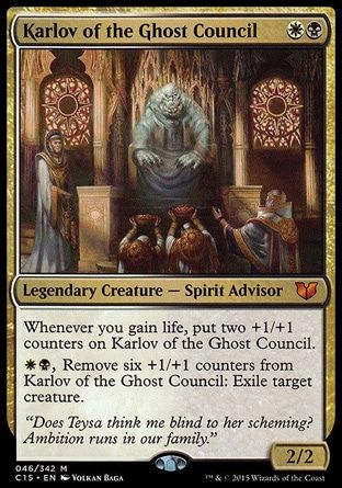 Karlov Of The Ghost Council Avec Images Cartes Magic Jeu De