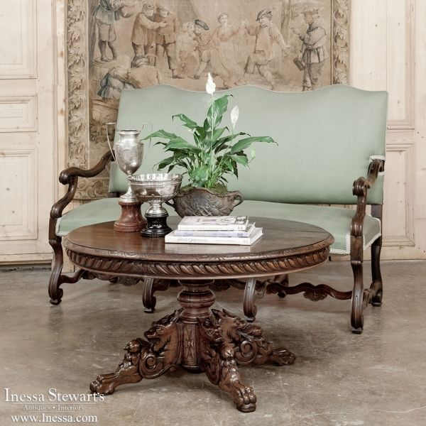 Beautiful Furniture Stores: 19th Century Oval