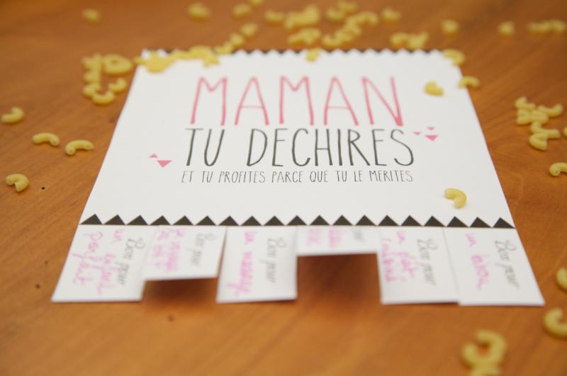Maman Tu Dechires Happily Friday Idee Cadeau Fete Des Meres Original Fete Des Peres Cadeau Fete Des Meres