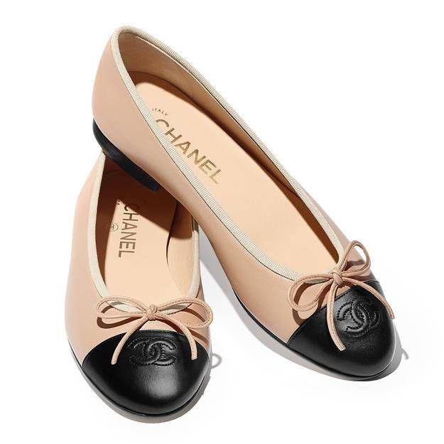 It pièce   la ballerine iconique de Chanel   Shoes   Pinterest ... eef40203229f